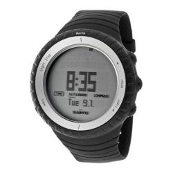 Men's Suunto SS016636000 Black Silicone/Grey