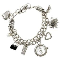 Women's Silver Bin SW-7928 Silver Metal/Silver