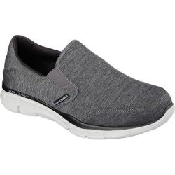 Men's Skechers Equalizer Forward Thinking Slip-on Charcoal/Black