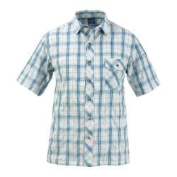 Men's Propper Covert Button-Up - Short Sleeve Mallard Plaid