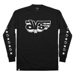 Men's DVS Speedster LS Tee Black/White