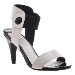 Women's Madeline Jem Sandal White/Black