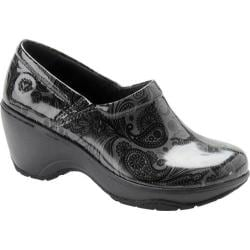 Women's Nurse Mates Bryar Dark Grey/Black Patent