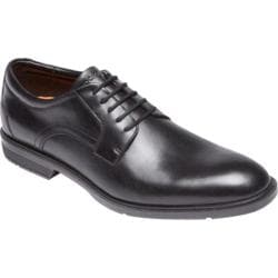 Men's Rockport City Smart Plain Toe Oxford Black Leather