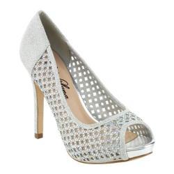 Women's Da Viccino Maggi-01 Caged Sandal Silver