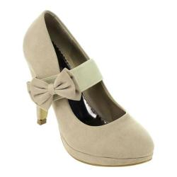 Women's Da Viccino Mary-01 Bow Heel Nude