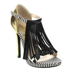 Women's Da Viccino Melisa-1 Fringe Sandal Gold