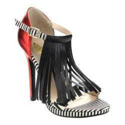 Women's Da Viccino Melisa-1 Fringe Sandal Red