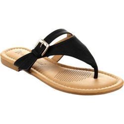 Women's Da Viccino Pinky-9 Thong Sandal Black