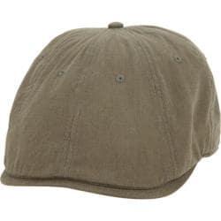 Men's Ben Sherman Brushed Cotton Twill Driving Cap Military Green