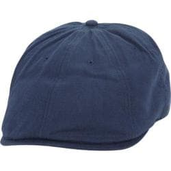 Men's Ben Sherman Brushed Cotton Twill Driving Cap Washed Blue