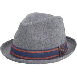 Men's Ben Sherman Cotton Chambray Trilby Nickel Grey