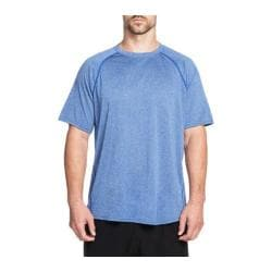 Men's Skechers Binary Raglan Tech Crew Neck Tee Shirt Royal