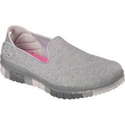 Women's Skechers GO FLEX Walk Slip-on Gray
