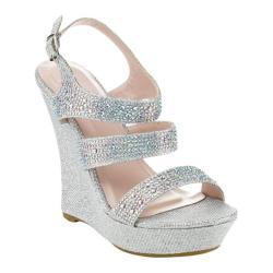 Women's Da Viccino Emmy-11 Wedge Sandal Silver