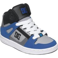 Children's DC Shoes Rebound Blue/Black/Grey