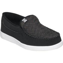 Men's DC Shoes Villain Black/White/Black Plaid