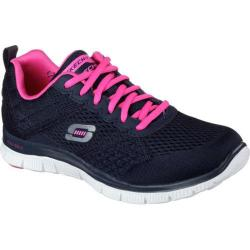 Women's Skechers Flex Appeal Obvious Choice Navy/Pink