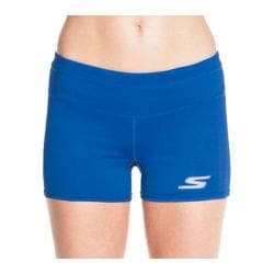 Women's Skechers Intense Performance Booty Shorts Royal