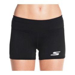 Women's Skechers Intensity Performance Booty Shorts Black