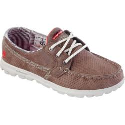 Women's Skechers On the GO Tide Boat Shoe Brown