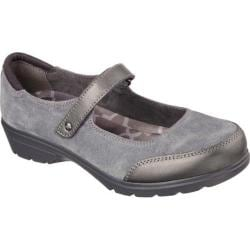 Women's Skechers Relaxed Fit Metronome Mary Jane Charcoal