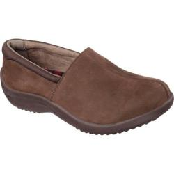 Women's Skechers Relaxed Fit Savor Dutch Closed Back Clog Chocolate