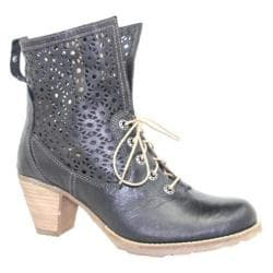 Women's Dromedaris Fibi Boot Black Soft Waxy Leather