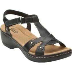 Women's Clarks Hayla Flute Black Leather