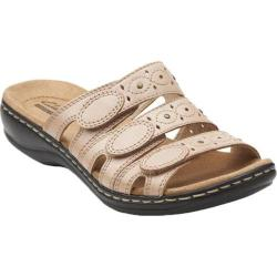 Women's Clarks Leisa Cacti Nude Leather 15659746