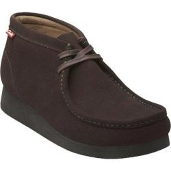 Men's Clarks Stinson Hi Chocolate Brown Suede