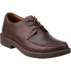 Men's Clarks Stratton Time Brown Cow Full Grain