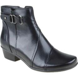 Women's Earth Atlas Black Calf Leather