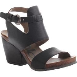 Women's OTBT Lee Sandal Black Leather