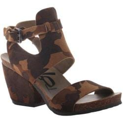 Women's OTBT Lee Sandal Camo Leather