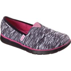Girls' Skechers BOBS Pureflex Sporty Chic Alpargata Black