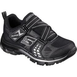 Boys' Skechers Nitrate Realms Sneaker Black/Silver