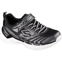 Boys' Skechers Rive Sneaker Black/Silver