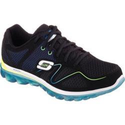 Men's Skechers Skech-Air 2.0 Brain Freeze Training Shoe Black/Blue