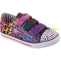 Girls' Skechers Twinkle Toes Chit Chat Prolifics Sneaker Black/Multi