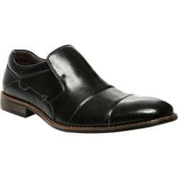 Men's Steve Madden Jaaggg Slip-On Black Leather