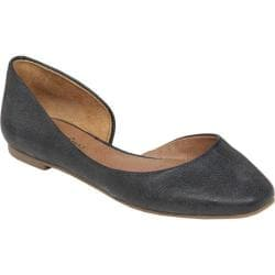 Women's Lucky Brand Randall Flat Black Leather