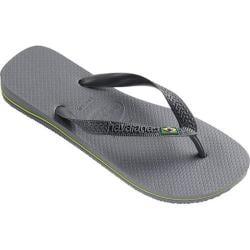 Men's Havaianas Brazil Flip Flop Steel Grey