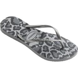 Women's Havaianas Slim Animals Flip Flop Ice Grey