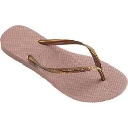 Women's Havaianas Slim Furta Flip Flop Crocus Rose