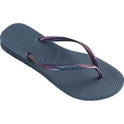 Women's Havaianas Slim Furta Flip Flop Indigo Blue
