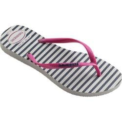Women's Havaianas Slim Retro Flip Flop White Rose