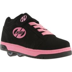 Girls' Heelys Dual Up X2 Black/Pink