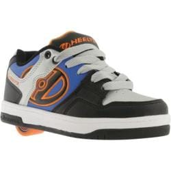 Children's Heelys Flow Black/Royal/Grey/Orange