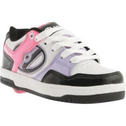 Children's Heelys Flow White/Black/Multi
